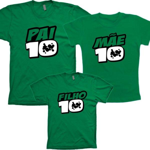 23ad3308fca5 Camisetas Ben10 Verde Tal Pai Tal Mãe Tal filho(a) C/ 3un – Criazopa