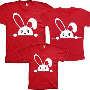 Camisetas Tal Pai Tal Mãe Tal Filho(a) Páscoa 3un
